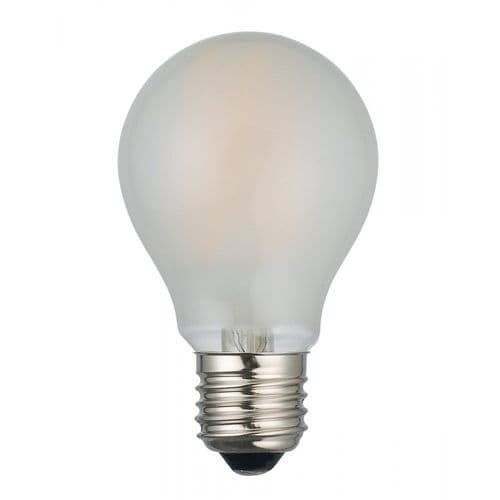 Dar Pack of 5 E27 LED Dimmable Lamp 8W Frosted